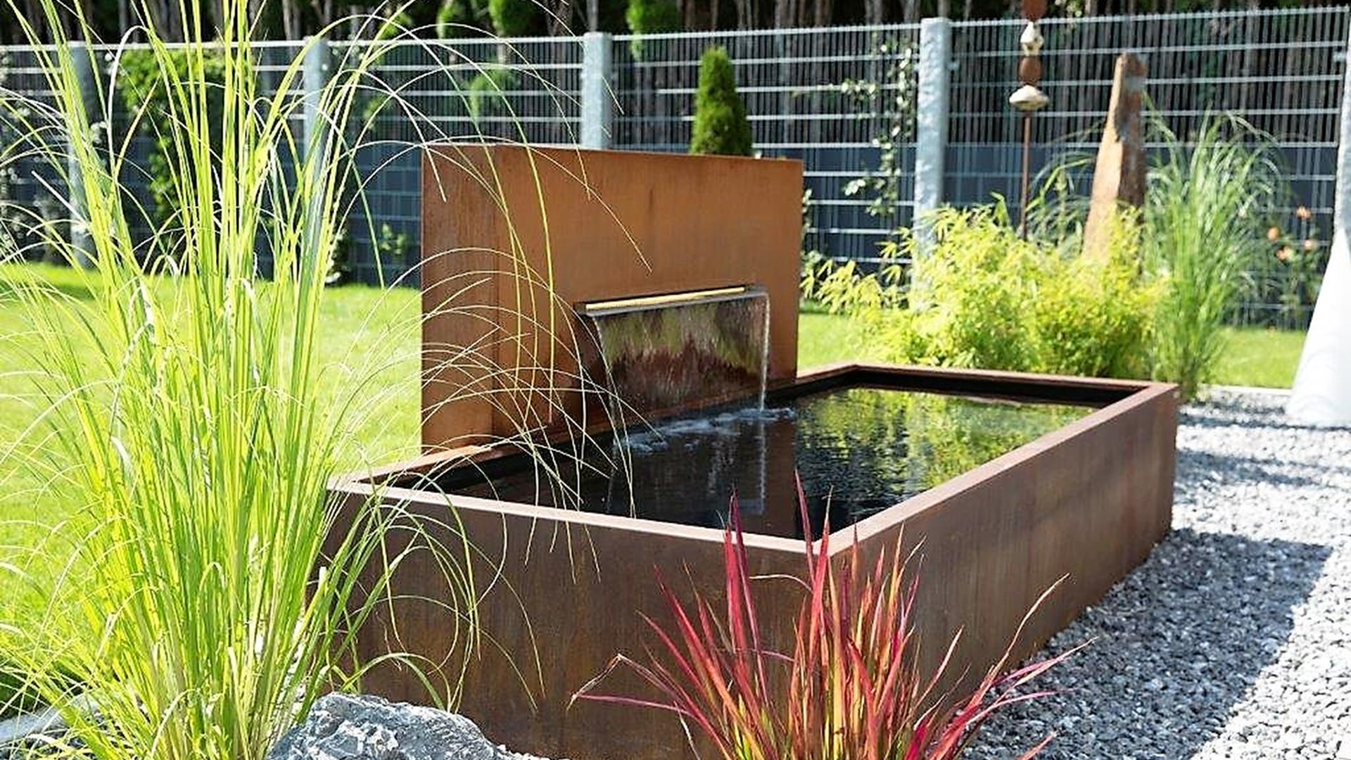 Wasser Im Garten Neu