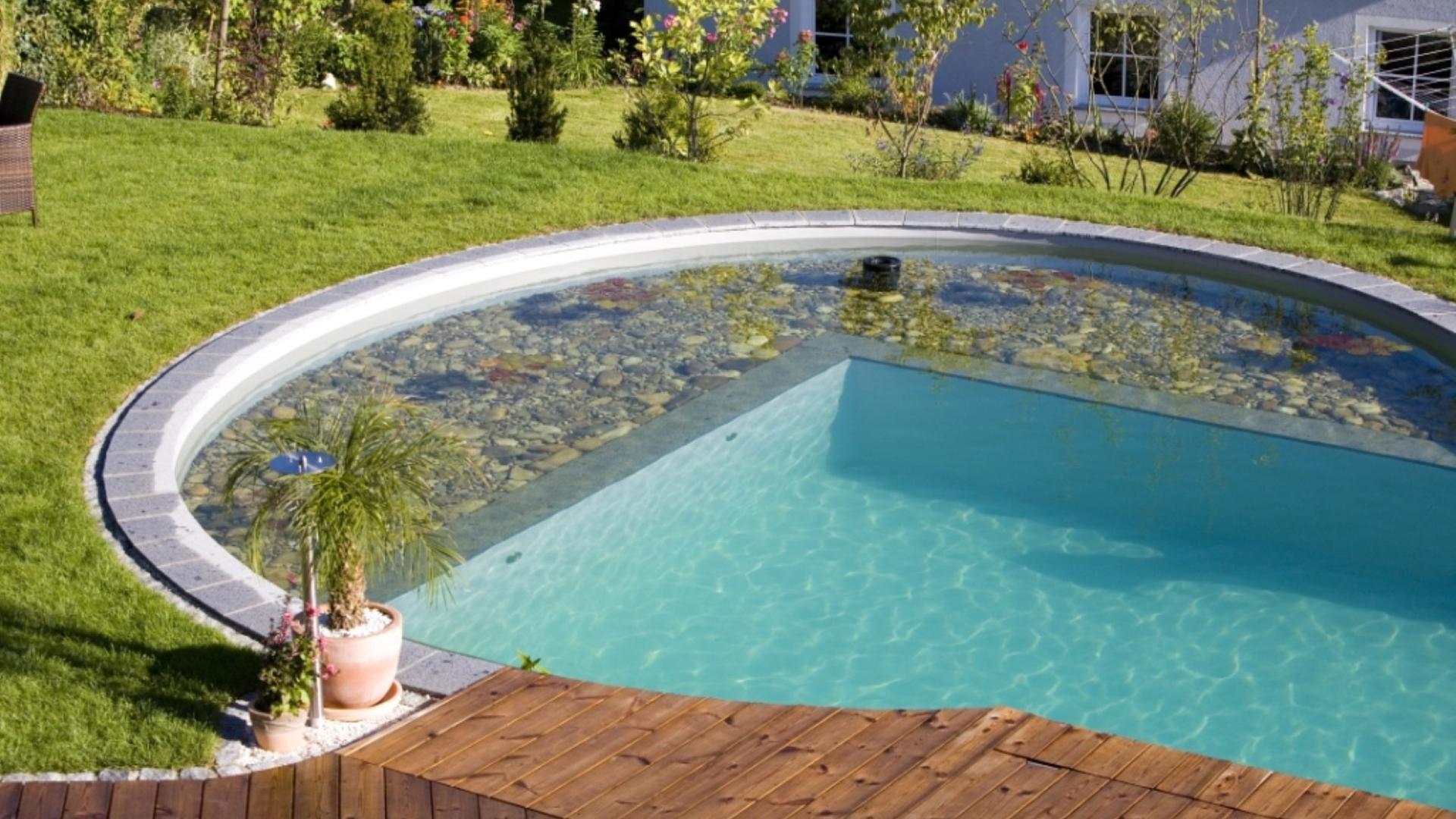 Wasser Im Garten Pool Large